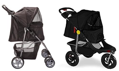 3 or 4 wheel pet stroller